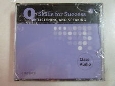 Q: SKILLS FOR SUCCESS LISTENING AND SPEAKING 4 CLASS AUDIO OXFORD 2011 4 CD SET