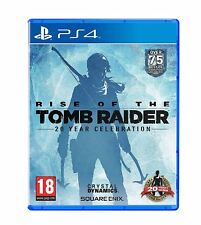 Rise of the Tomb Raider 20 Year Celebration PS4 Artbook Edition New and Sealed