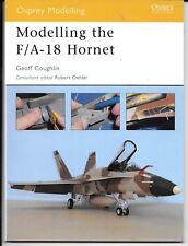 Osprey Modelling the F/A-18 Hornet Reference OSPMOD 16 ST  Near Mint