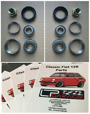 Classic Fiat 500 Front Wheel Bearing Kit (Fiat 126 Early models) RIGHT & LEFT