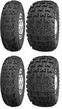 Full set of (4) Sedona Bazooka 21X7-10 front and 20X11-9 Rear Sport Quad Tires