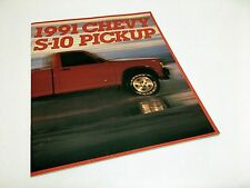 1991 Chevrolet S-10 Pickup Brochure