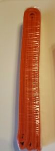 Brand New In Plastic Solid Rank Belt Orange Size 4 Martial Arts Free Shipping