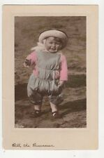 Bill The Buccaneer Vintage Aristophot Postcard Children 201b