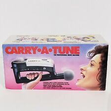 Vintage 1990 Seiko Carry A Tune Music Machine MK-60 Cassette Microphone Karaoke