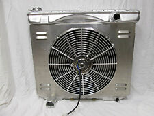Ford Aluminum Radiator Full Size 1957 to 1959 and Mercury with Fan and Shroud