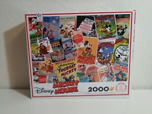 "CEACO Mickey Mouse Puzzle 2000 PC - 38"" x 26"" Disney Posters - Brand New"