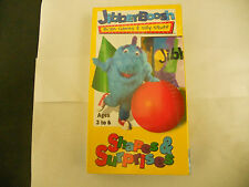 Jibberboosh Shapes & Surprises (VHS VCR Tape) Brain Games Children's Learning NE
