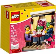 LEGO 40120 Valentine's Day Dinner, New in Sealed Box, 2015, Seasonal Holiday