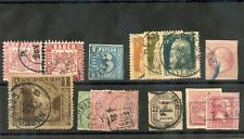GERMANY, BADEN-WURTTEMBERG 1850-1915 28 DIFFERENT F-VF USED $170