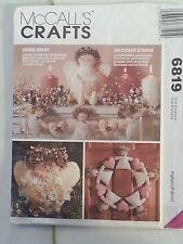 McCalls 6819 Angel Heart Craft Pattern 1993