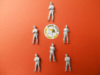 VEHICULE MILITAIRE 1/50 LOT DE 6 FIGURINES EN WHITE METAL SOLDATS ALLEMANDS N°4