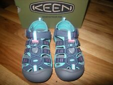 New Girls Midnight Navy and Baltic Keen Newport H2 Size 11