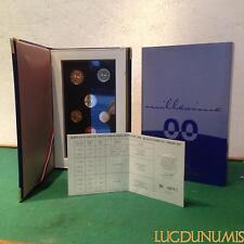 Coffret BE 2000 France 8 pièces 2 Euro à 1 Centime Belle Epreuve