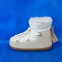 Inuikii Damen Warme Winter Lammfell Boots Stiefel Cable Stitch Gr 37 Np 269 Neu