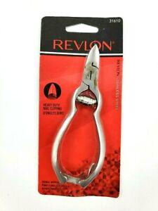 Revlon Toenail Nipper Heavy Duty #31610 Stainless Steel NEW