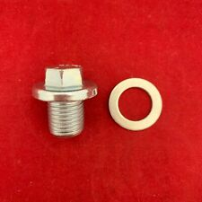 New OE Spec Engine Oil Drain Plug and Gasket For 21512-23000 21512-23001