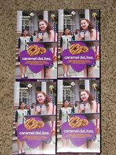 2017 Girl Scout Cookies 4 boxes Coconut Caramel Delights 'Samoas' Ships Priority