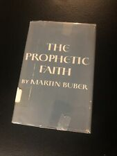 The Prophetic Faith By Martin Buber (1949, First Printing) Rare
