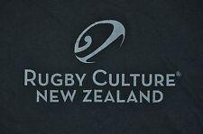T-SHIRT L LARGE RUGBY CULTURE NEW ZEALAND FUTBOL KIWI SHIRT
