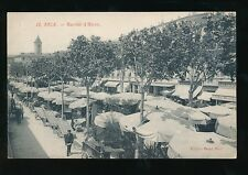 France French Riviera NICE Marche d'Hiver Winter Market c1900s? PPC