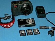 SeaLife DC 1400 Digital Kamera mit Unterwasser Gehäuse, 4 Akkus,  §