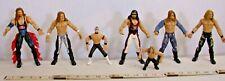 WWF, WWE, WCW WRESTLING ACTION FIGURES LOT OF SEVEN JAKKS #6
