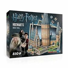Harry Potter Hogwarts Great Hall 3D Puzzle 850 Pcs WREBBIT
