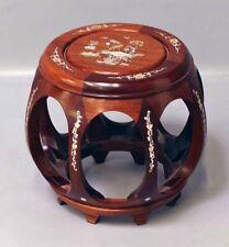 China Holz stand pedestal Hocker für Vase PorzeIlan Buddha Republik Zeit 1912-49