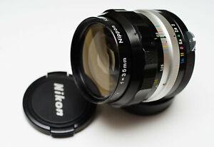 CLAed! Nikon Nikkor-O 35mm f/2 Ai'edi fast wide angle lens SLR/DSLR/Mirorless
