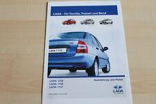 96117) Lada 1119 1118 1117 - Preise & Extras - Prospekt 04/2008