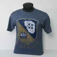 US Navy Blue Angels Distressed Vintage Crest t-shirt