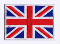 Patche écusson patch drapeau ecusson Union Jack Royaume Uni brodé thermocollant