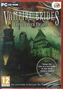 Vampire Brides, Lover Over Death, Hidden Objects PC Game, NEW