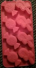 Candy Cane Peppermint Silicone Cake Decorating Candy Cookies Chocolate Soap Wax