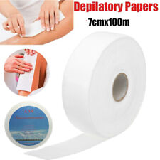 Nonwoven Hair Removal Strip Paper Roll Waxing Remover 7cm Wide 7X100m hot