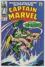 L4961: Captain Marvel #4, Vol 1, VG/F Condition