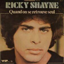 "7"" RICKY SHAYNE Quand on se retrouve seul FRANCIS LAI/ Oncle Sam WIP France 1976"