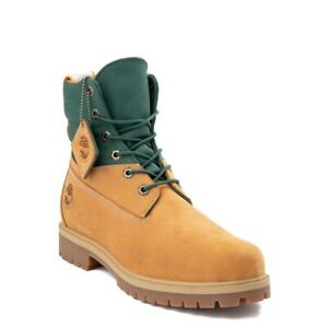 """NEW Mens Timberland 6"""" ReBOTL Boot Wheat Green Recycled Bottles"""