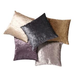 Plain Luxury Velvet Soft Cushion Cover LARGE FREE P&P