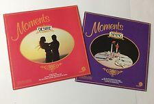 "Vinyl LP - Moments ""Desire"" & ""Dining"" Hourglass Compilations. Telmak products."