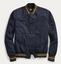 $490 RRL Ralph Lauren Vintage Inspired lightweight cotton blend jacket-MEN- XXL