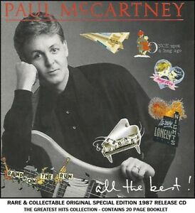 Paul McCartney & Wings Very Best Essential Greatest Hits Collection 70's 80's CD