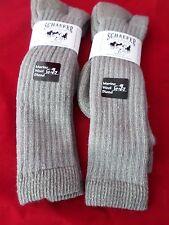 2 Pair Schaefer Ranch Wear 20% Merino Over the Calf  Boot Sock Large 10-13 USA