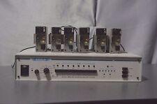 Cetec Vega QX- 6A wireless intercom master station with 6 belt packs beltpack