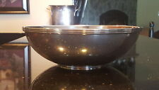 Authentic Tiffany & Co Circa 1947 Mid Century Modern Sterling Silver Bowl