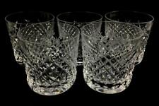 (5) Waterford Crystal Old Fashioned Glasses Lot 1049