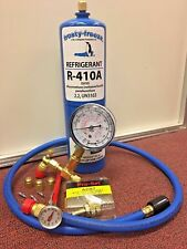 R410, R410a, Refrigerant Recharge Kit, 28 oz., Thermometer, 3 Cores & Caps, r410