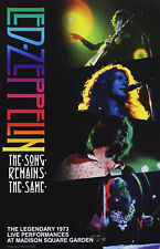 Led Zeppelin 2018 The Song Remains The Same Rhino Records Double Sided Poster