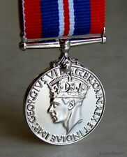 British & Canadian - Commonwealth  War Medal King George VI 1939 - 1945 WWII